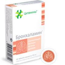 Bronhalamin Tüdő és Hörgők Bioregulatora