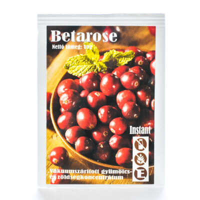 Betarose - vitalizáló vaakumszárított gyümölcsökből készült italpor
