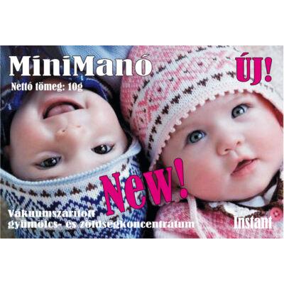 MiniManó - A gyerekednek add minden nap 100 %-ban a legjobbat! - 10g